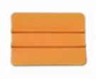 Carte PVC Orange coins arrondis
