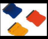 Grattoirs plastiques simple lame