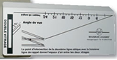 Instrument de mesure des vitrages